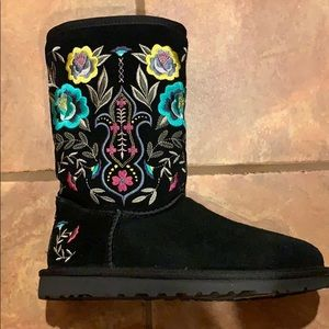 Ugg Juliet Embroidered Boots